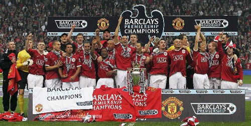 manchester united premier league champion 2006/2007