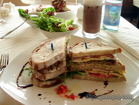 Sandwich The Loaf bakery Tun Dr Mahathir Langkawi delicious food
