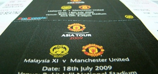 Manchester United Tickets Asian Tour