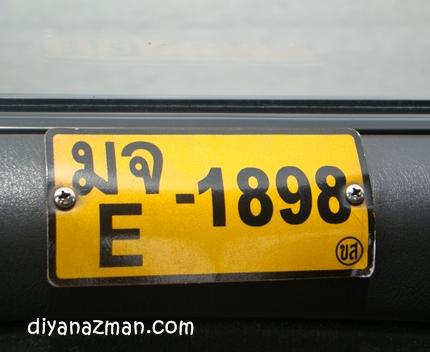 taxi number in Bangkok