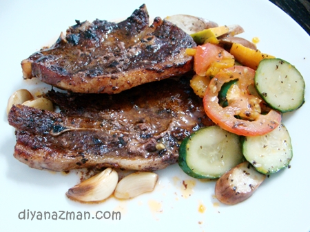 roasted lamb chop