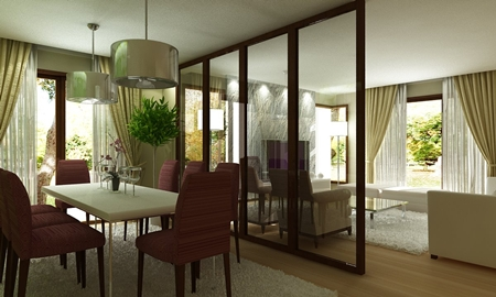 artist impression living room