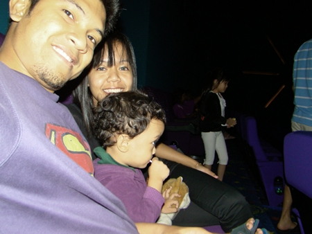in the movies