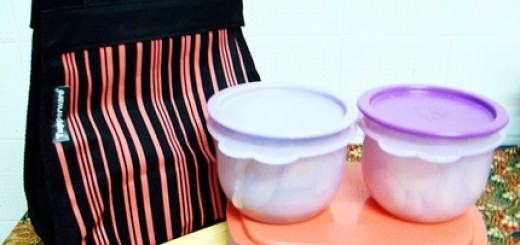 tupperware meal set