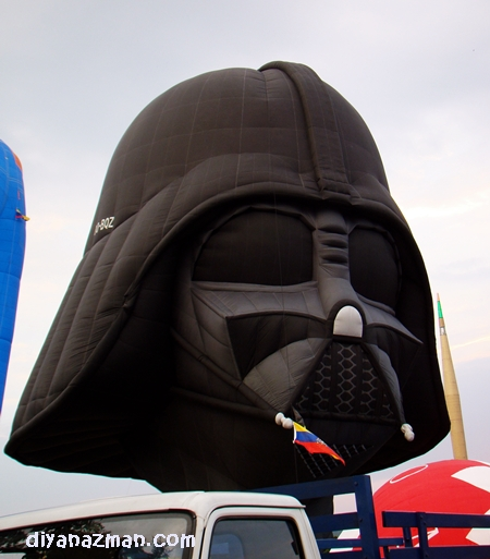 Head of Darth Vader