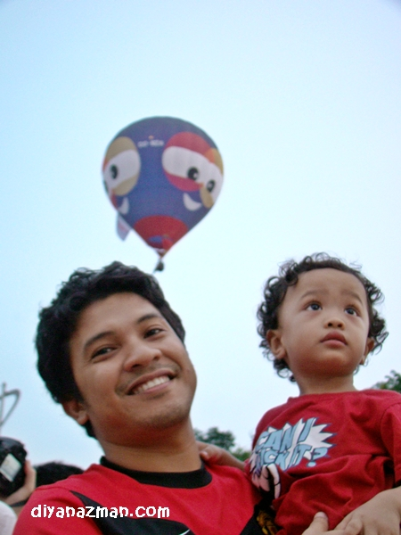 balloon bermata