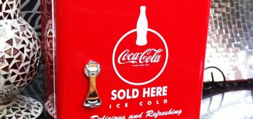 Coca-Cola Mini Fridge Cooler