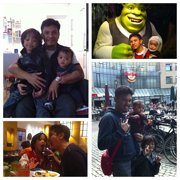 Happy Fathers' Day to Azman Aziz, Daddy to MikiRafa! We all love u!