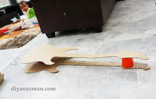 guitar pinata for kids