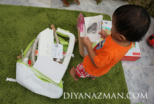 rafa dan fisher price portable rocker