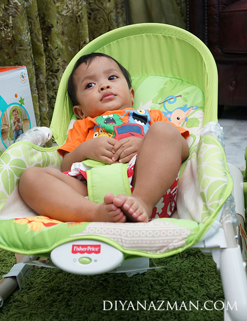 rafa lepak Newborn-to-Toddler Portable Rocker - Fisher Price