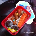kids bento snack time lunch box