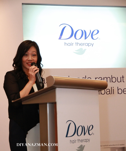 ashley ng DOVE malaysia