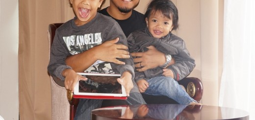 Daddy and sons