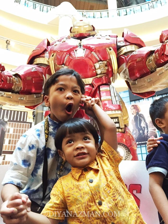 the iron man statue malaysia the advengers
